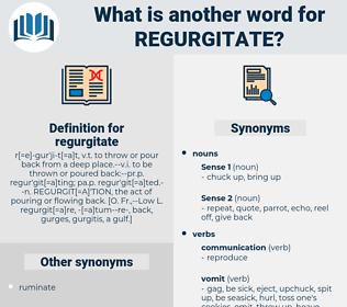 regurgitate, synonym regurgitate, another word for regurgitate, words like regurgitate, thesaurus regurgitate