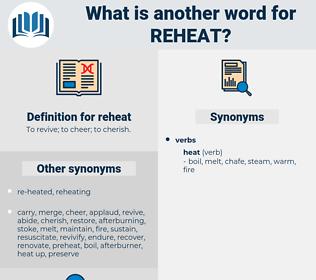 reheat, synonym reheat, another word for reheat, words like reheat, thesaurus reheat