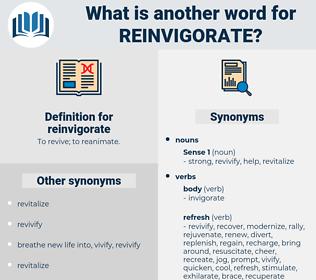 reinvigorate, synonym reinvigorate, another word for reinvigorate, words like reinvigorate, thesaurus reinvigorate