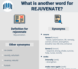 rejuvenate, synonym rejuvenate, another word for rejuvenate, words like rejuvenate, thesaurus rejuvenate