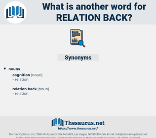 relation back, synonym relation back, another word for relation back, words like relation back, thesaurus relation back