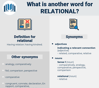 relational, synonym relational, another word for relational, words like relational, thesaurus relational