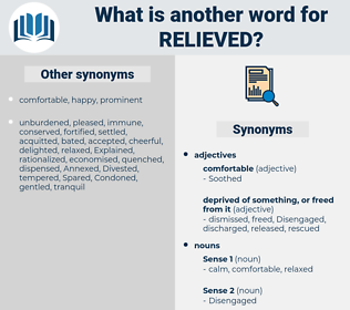 relieved, synonym relieved, another word for relieved, words like relieved, thesaurus relieved