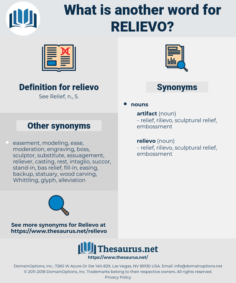 relievo, synonym relievo, another word for relievo, words like relievo, thesaurus relievo