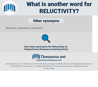 reluctivity, synonym reluctivity, another word for reluctivity, words like reluctivity, thesaurus reluctivity