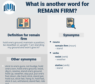 remain firm, synonym remain firm, another word for remain firm, words like remain firm, thesaurus remain firm