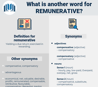 remunerative, synonym remunerative, another word for remunerative, words like remunerative, thesaurus remunerative