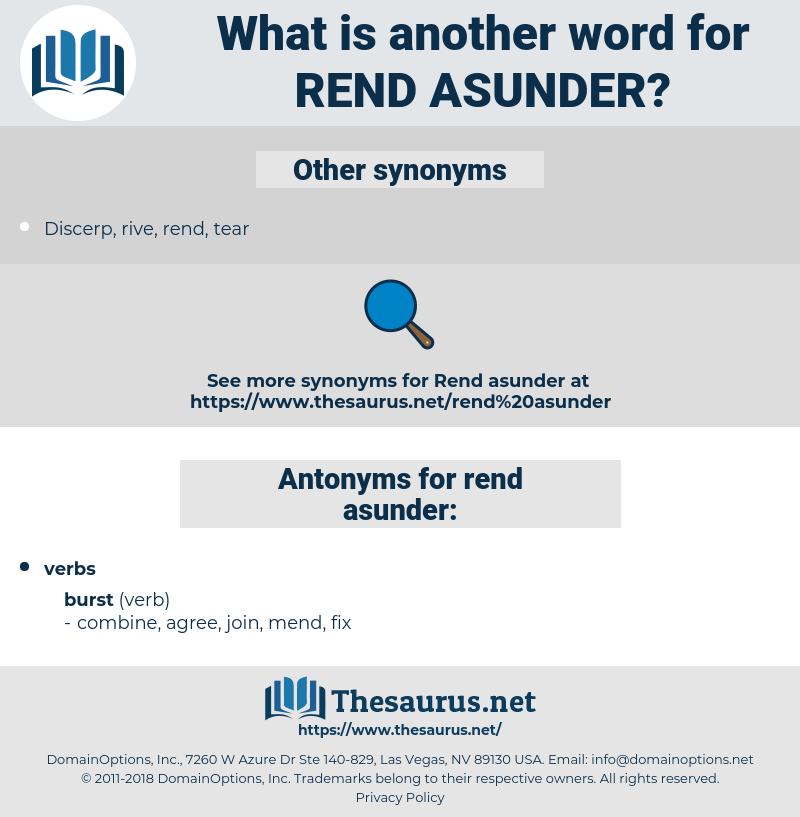 rend asunder, synonym rend asunder, another word for rend asunder, words like rend asunder, thesaurus rend asunder