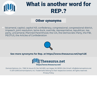 rep, synonym rep, another word for rep, words like rep, thesaurus rep