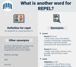 repel, synonym repel, another word for repel, words like repel, thesaurus repel