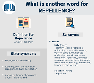 Repellence, synonym Repellence, another word for Repellence, words like Repellence, thesaurus Repellence