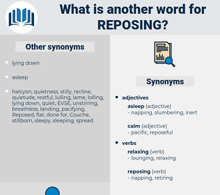 Reposing, synonym Reposing, another word for Reposing, words like Reposing, thesaurus Reposing