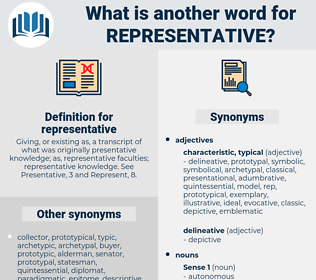 representative, synonym representative, another word for representative, words like representative, thesaurus representative