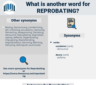 Reprobating, synonym Reprobating, another word for Reprobating, words like Reprobating, thesaurus Reprobating