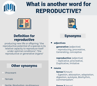 reproductive, synonym reproductive, another word for reproductive, words like reproductive, thesaurus reproductive