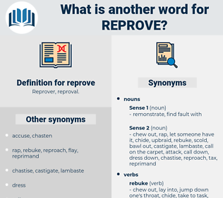 reprove, synonym reprove, another word for reprove, words like reprove, thesaurus reprove