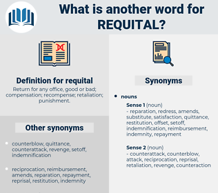 requital, synonym requital, another word for requital, words like requital, thesaurus requital