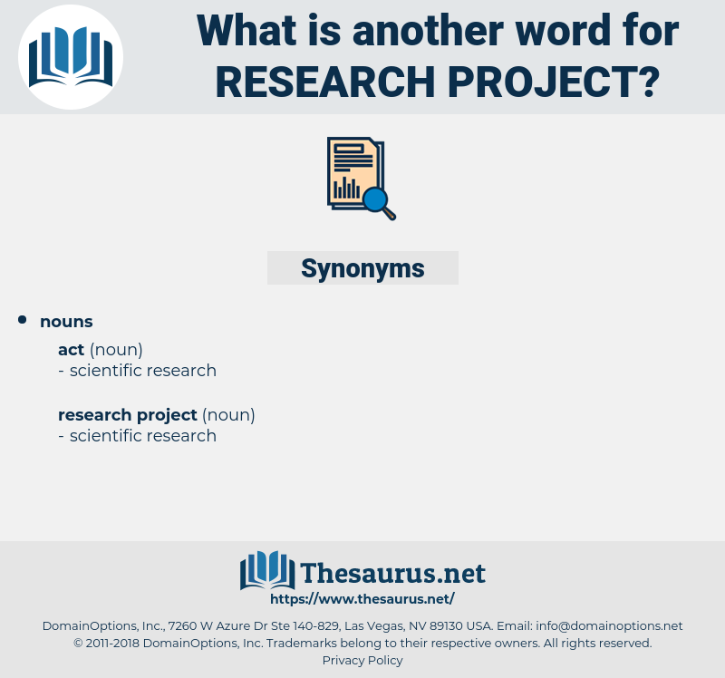 research project, synonym research project, another word for research project, words like research project, thesaurus research project