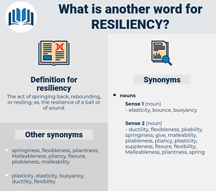 resiliency, synonym resiliency, another word for resiliency, words like resiliency, thesaurus resiliency