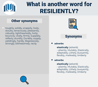 resiliently, synonym resiliently, another word for resiliently, words like resiliently, thesaurus resiliently