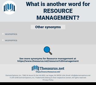 resource management, synonym resource management, another word for resource management, words like resource management, thesaurus resource management