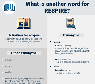respire, synonym respire, another word for respire, words like respire, thesaurus respire