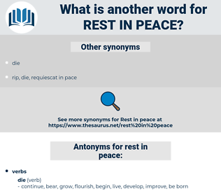 rest in peace, synonym rest in peace, another word for rest in peace, words like rest in peace, thesaurus rest in peace
