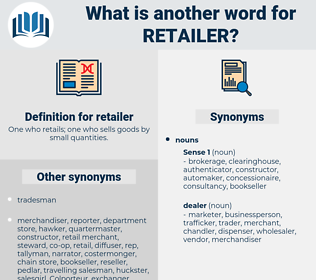 retailer, synonym retailer, another word for retailer, words like retailer, thesaurus retailer
