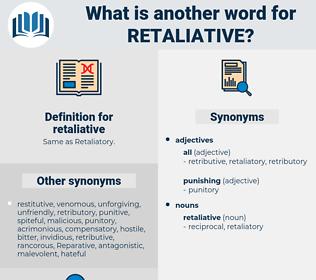 retaliative, synonym retaliative, another word for retaliative, words like retaliative, thesaurus retaliative