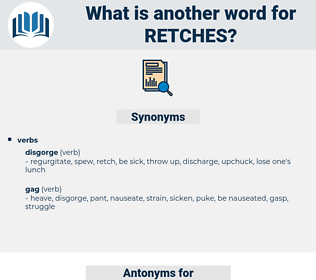 retches, synonym retches, another word for retches, words like retches, thesaurus retches