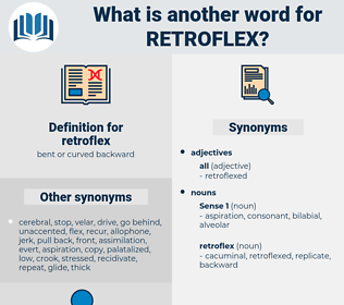 retroflex, synonym retroflex, another word for retroflex, words like retroflex, thesaurus retroflex