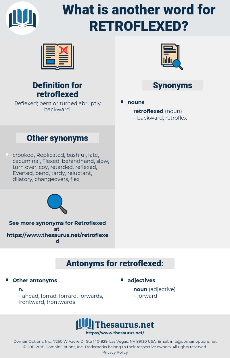 retroflexed, synonym retroflexed, another word for retroflexed, words like retroflexed, thesaurus retroflexed
