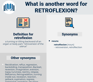 retroflexion, synonym retroflexion, another word for retroflexion, words like retroflexion, thesaurus retroflexion