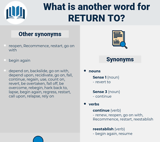 return to, synonym return to, another word for return to, words like return to, thesaurus return to