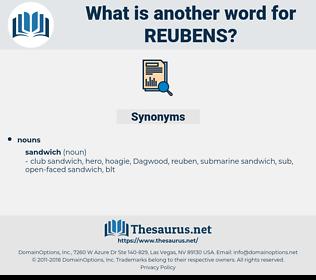 reubens, synonym reubens, another word for reubens, words like reubens, thesaurus reubens