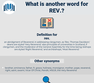rev, synonym rev, another word for rev, words like rev, thesaurus rev