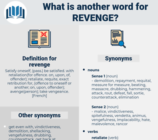 revenge, synonym revenge, another word for revenge, words like revenge, thesaurus revenge