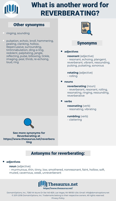 reverberating, synonym reverberating, another word for reverberating, words like reverberating, thesaurus reverberating