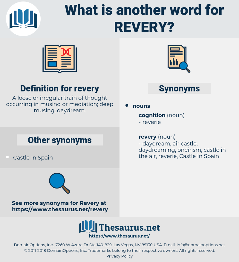revery, synonym revery, another word for revery, words like revery, thesaurus revery