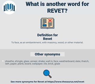 Revet, synonym Revet, another word for Revet, words like Revet, thesaurus Revet