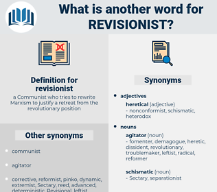 revisionist, synonym revisionist, another word for revisionist, words like revisionist, thesaurus revisionist