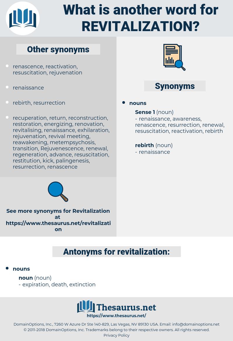 revitalization, synonym revitalization, another word for revitalization, words like revitalization, thesaurus revitalization
