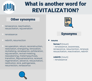 revitalization, synonym revitalization, another word for revitalization, words like revitalization, thesaurus revitalization