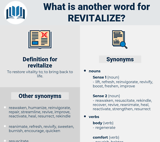 revitalize, synonym revitalize, another word for revitalize, words like revitalize, thesaurus revitalize