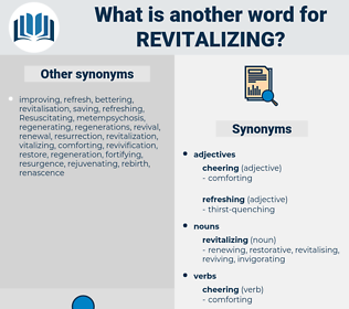 revitalizing, synonym revitalizing, another word for revitalizing, words like revitalizing, thesaurus revitalizing