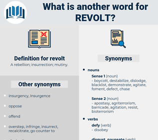revolt, synonym revolt, another word for revolt, words like revolt, thesaurus revolt