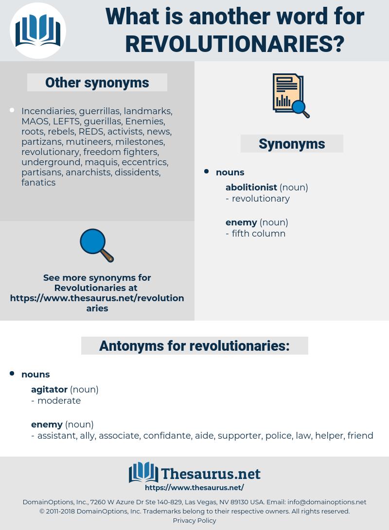 revolutionaries, synonym revolutionaries, another word for revolutionaries, words like revolutionaries, thesaurus revolutionaries