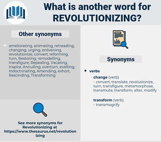 Revolutionizing, synonym Revolutionizing, another word for Revolutionizing, words like Revolutionizing, thesaurus Revolutionizing