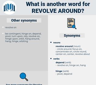 revolve around, synonym revolve around, another word for revolve around, words like revolve around, thesaurus revolve around