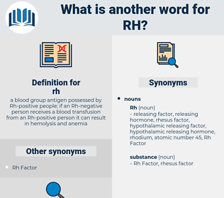 rh, synonym rh, another word for rh, words like rh, thesaurus rh